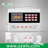 Écran de presse sans fil Panneau d'alarme GSM avec contrôle d'APP