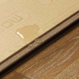 V溝によってワックスを掛けられた浮き出しは防水Unilin合成の床張りのクリックを薄板にした