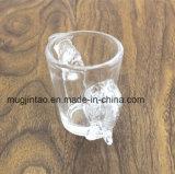 Vajilla de cristal por encargo de la taza que cocina la taza de consumición