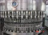 Compléter la chaîne de production remplissante de l'eau de bouteille d'animal familier