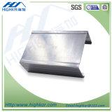 Cubierta de acero ligera galvanizada del perfil de la quilla y canal que utiliza