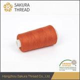 Filato cucirino filato memoria del poliestere di prezzi ragionevoli 100% di Sakura Oeko-Tex