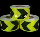5cm X45.7m selbstklebendes Vinylrolls-prismatischer reflektierender Blatt-Aufkleber