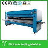 Dispositivo di piegatura industriale piegante del lenzuolo della lavanderia della macchina del panno automatico per l'hotel (ZD3000-V)