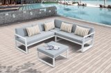 Jardin de patio, sofa extérieur réglé de salon en aluminium de Joya (J678)