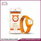 デジタルBluetooth無線スマートな赤ん坊の腕時計の温度計