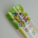 La bolsa de plástico transparente del cuadrado de la parte inferior plana de OPP para el bolso transparente del pan BOPP para el caramelo