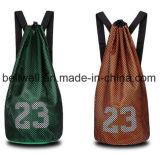 Nuevo bolso del recorrido del deporte del equipaje de la tela de lana basta del baloncesto de la gimnasia del diseño 2017