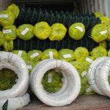 2inch 메시 오프닝 PVC는 6개 발 - 정원을%s 높은 체인 연결 담을 입혔다