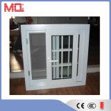 Plastikschiebendes Fenster-Gitter-Entwurf des fenster-UPVC