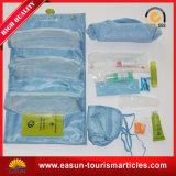 Conjunto el dormir del recorrido de los kits de la amenidad del recorrido del kit de la línea aérea el dormir