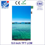 Painel de Fwvga 5.0inch TFT LCD para o telefone móvel