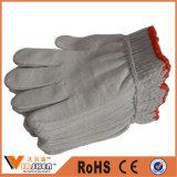 Gants de coton de sécurité en Chine / Gants confortables tricotés / Gants en coton de travail