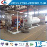 ASME 10, бензоколонка завода 10cbm LPG цилиндра 000L LPG заполняя для сбывания