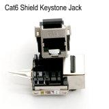 RJ45 connettore trapezoidale trapezoidale del modulo schermato rete CAT6 Jack