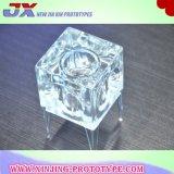 Les pièces acryliques ont personnalisé les pièces de rotation de usinage de pièces de commande numérique par ordinateur/tour