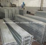 De veilige Duurzame Plank van de Steiger voor Bouw
