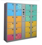 Armario de almacenaje del metal de la huella digital