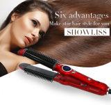 Personnaliser 3 en 1 redresseur de cheveu et fer s'enroulant