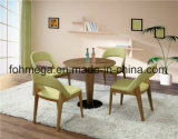 Alta qualidade High End Chain Shop Assento estofado Wooden Starbucks Furniture