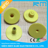 Dierlijke Markeringen van het Oor van identiteitskaart RFID de In het groot Aangepaste RFID