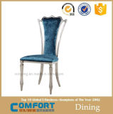 Moderner PU-lederner preiswerter Goldkönig Throne Dining Chair