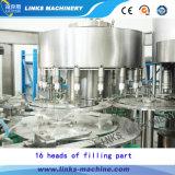 Terminar a máquina de enchimento plástica da água do animal de estimação para a planta do baixo custo
