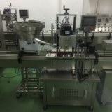Cargamento redondo automático del casquillo y máquina que capsula