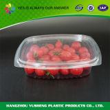 Recipiente de empacotamento da fruta desobstruída plástica da bolha do animal de estimação