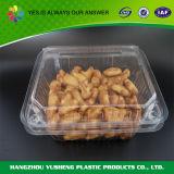 Recipiente de alimento plástico do armazenamento do quadrado do produto comestível mini