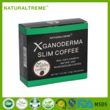ロータス葉のエキスが付いているコーヒーを細くする混合のGanoderma