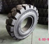 La vente chaude 6.50X10 Facile-A ajusté les pneus solides, les pneus solides 6.50-10 de cliquetis de la Chine pour le chariot gerbeur de Linde