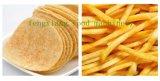 La petite banane semi-automatique de pomme de terre de chair de poissons de nourriture d'acier inoxydable ébrèche la friteuse de casse-croûte