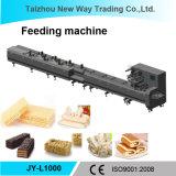 Máquina automática da alimentação e de empacotamento para o alimento