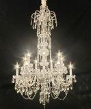 Hotel-Projekt-dekorativer Luxuxkristallinnenleuchter