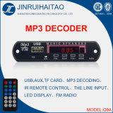Врезанный обломок mp3 плэйер для цифров FM Radio Receiver-Q9a