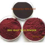 Colore rosso rosso naturale del Monascus della polvere dell'estratto del riso del lievito