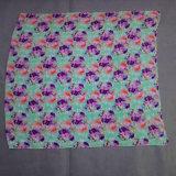 新しい花はボイルのスカーフを印刷した