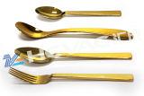 스테인리스 식기 (금 검정 장미 금 색깔)를 위한 PVD 코팅 기계