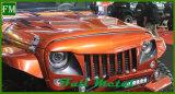 Gril avant noir mat d'oeil d'aigle pour le Wrangler Jku de jeep