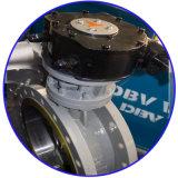 Válvulas de mariposa metal sobre metal neumáticas del asiento de Dbv