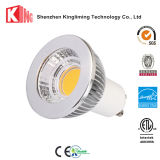 Les lampes de DEL GU10 chauffent l'ampoule blanche 110V 230V d'endroit lumineux