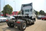 De Vrachtwagen van de Tractor van Sinotruk HOWO T5g 350HP 4X2 voor Verkoop