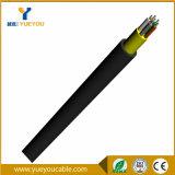 2 câble de fibre optique des fibres FTTH d'intérieur avec la jupe de TPU ou de LSZH