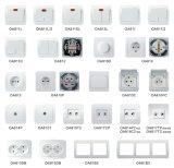 Zoccolo chiaro elettrico di vendita caldo dell'interruttore della parete della casa poco costosa di prezzi 2017