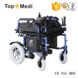 Sillón de ruedas inclinado de la energía eléctrica del respaldo del nuevo diseño de Topmedi