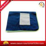 Manta del sueño de las mantas del paño grueso y suave del diseño simple