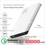 La Banca mobile variopinta di potere della lega di alluminio 10000mAh