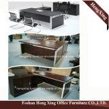Forniture di ufficio moderne HX-5DE528 L laminata melammina scrivania di figura