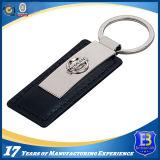 昇進(ELE-K095)のためのカスタマイズされた亜鉛合金の革Keychain